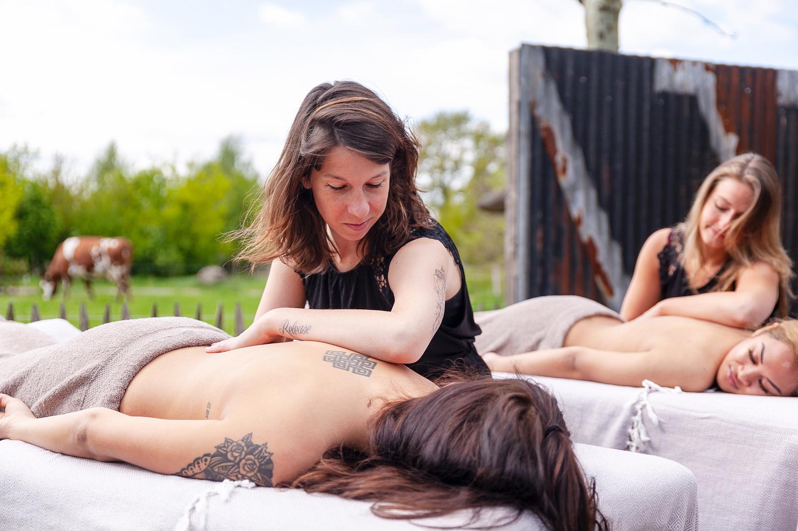 Duo Massage Lomi Lomi City Massage hete olie massage Tilburg