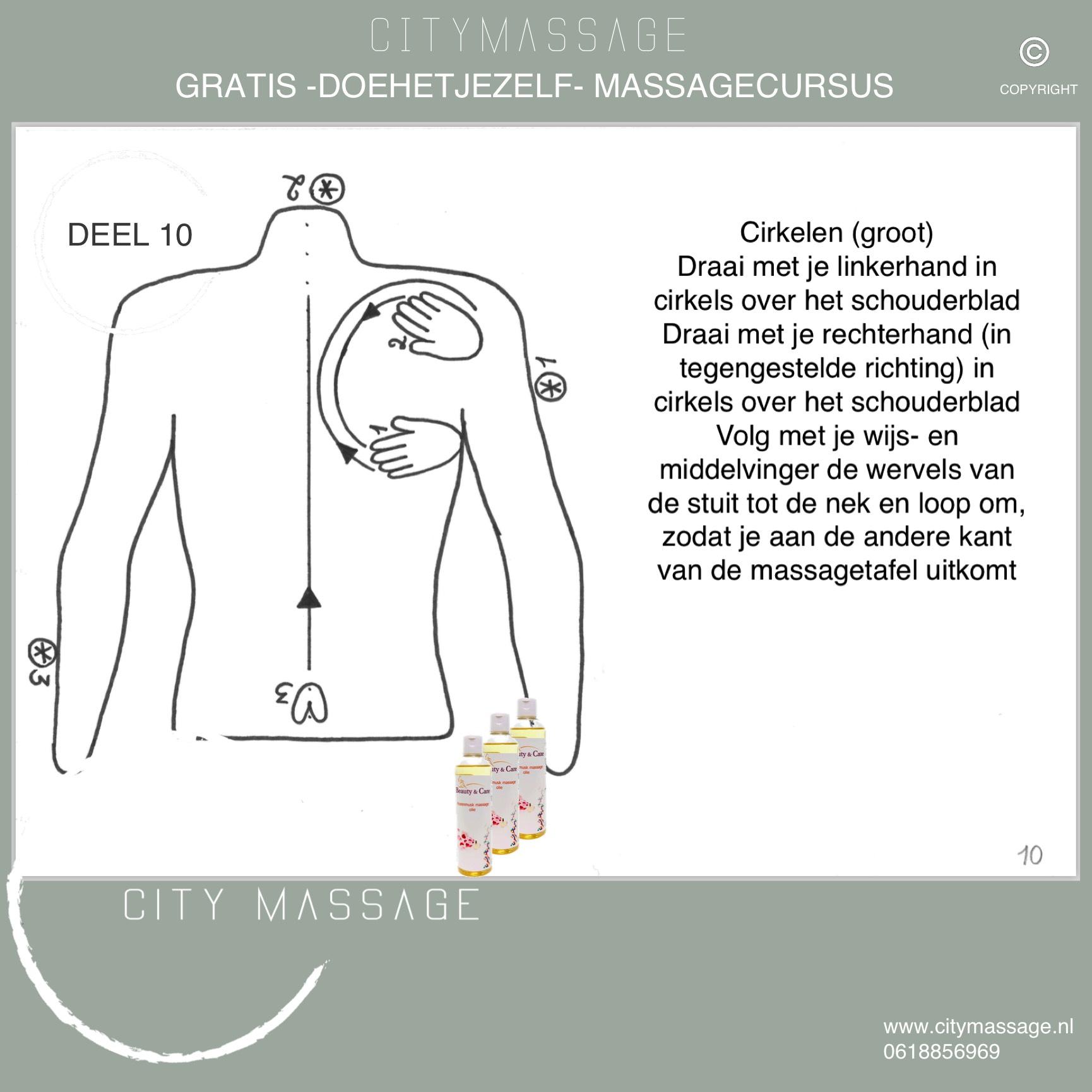 DOEHETJEZELF gratis massagecursus deel 10 City Massage Tilburg Blog