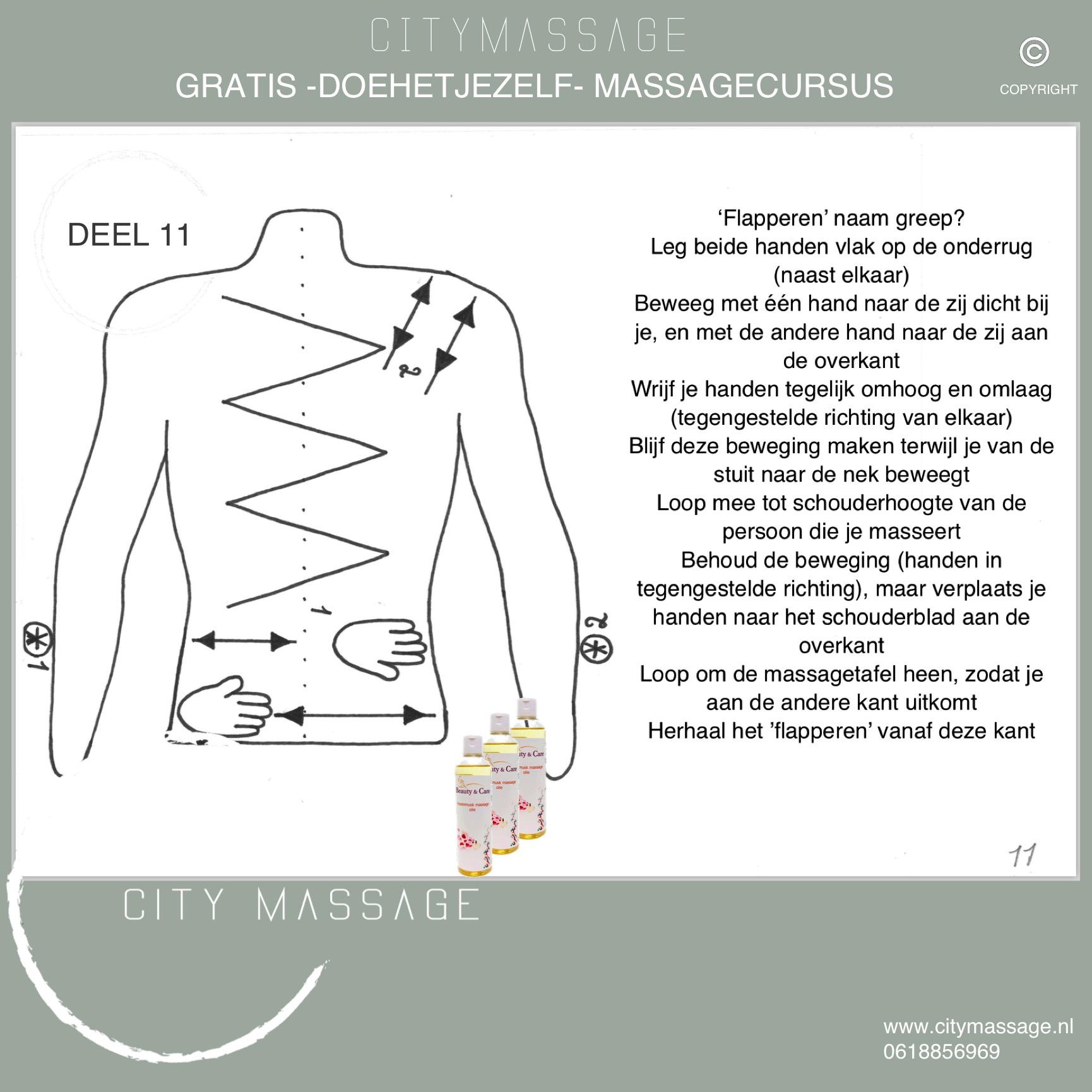 DOEHETJEZELF gratis massagecursus deel 11 City Massage Tilburg Blog ontspanningsmassage duo massage workshop