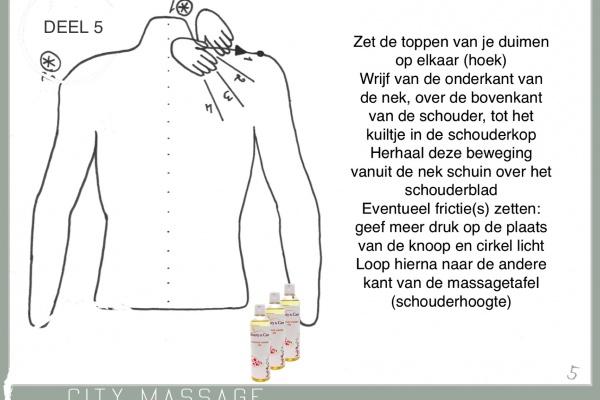 Massagecursus deel 5 gratis voor bij je thuis. City Massage Tilburg duo massage